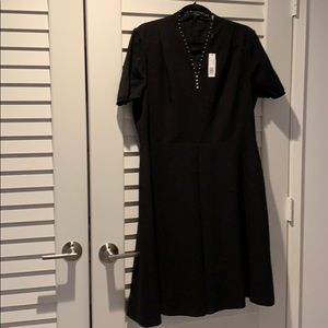 NWT size 16 black t Tahari dress